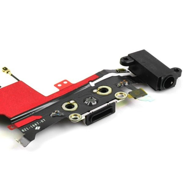 iPhone 5S Charging Port Flex Cable with Jack Port and Microphone - OEM