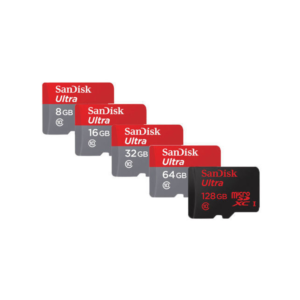SanDisk Ultra High-Speed SD Card SDHC Micro Memory Card