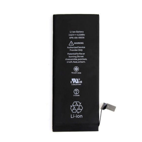 Internal Replacement Battery For Apple iPhone 6S  1715 mAh Capacity