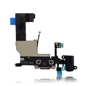 iPhone 5 Charging Dock  Flex Cable Assembly With Headphone Jack And Microphone