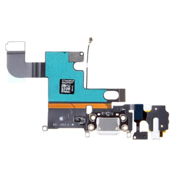 iPhone 6 Charge Port Connector with Headphone Jack and Microphone Flex Cable Ribbon
