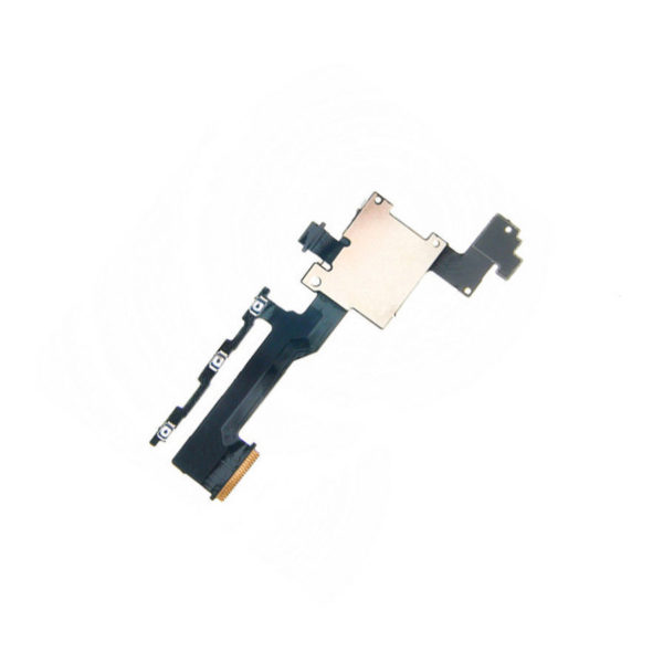 Power On Off Volume Button Switch Flex Cable With SD Card Reader For HTC M9-3