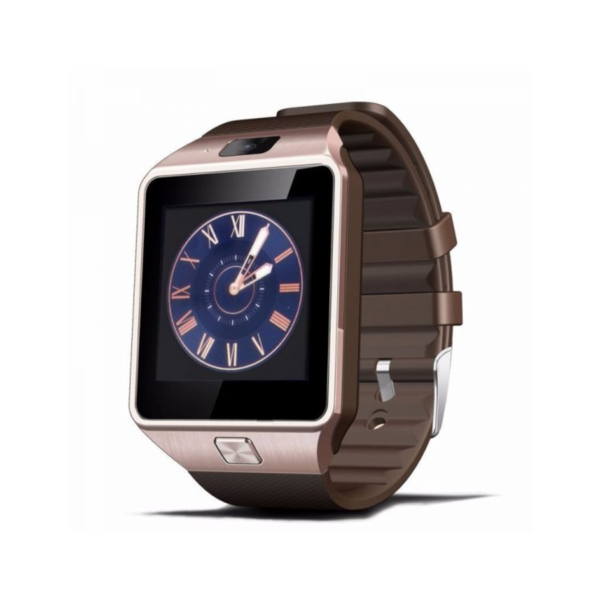 Variation-of-Bluetooth-DZ09-Smart-Watch-For-Android-HTC-Samsung-iPhone-iOS-Camera-SIM-Slot-golden