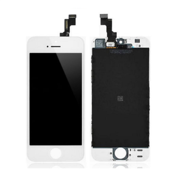 iPhone 5 LCD Screen Assembly white
