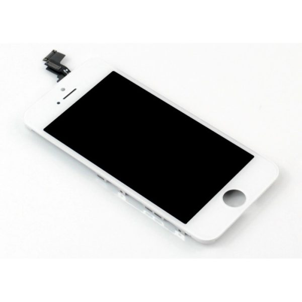 iPhone-5C-LCD-touch-screen-digitizer-assembly-and-frame-White-Free-Tool-Kit-2