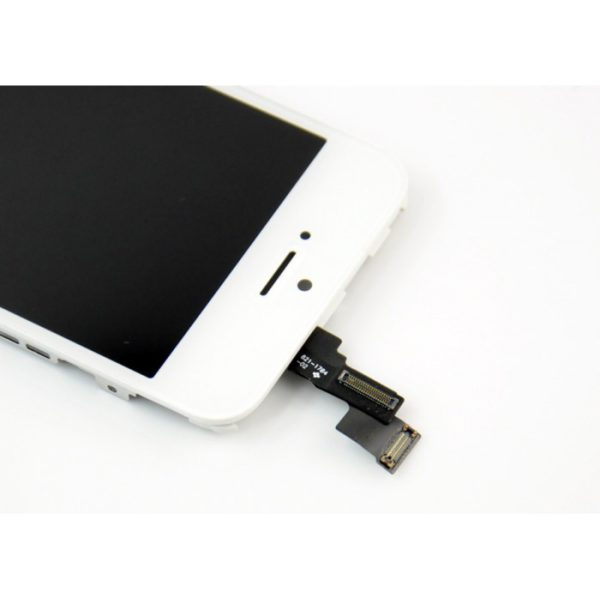 iPhone-5C-LCD-touch-screen-digitizer-assembly-and-frame-White-Free-Tool-Kit-5