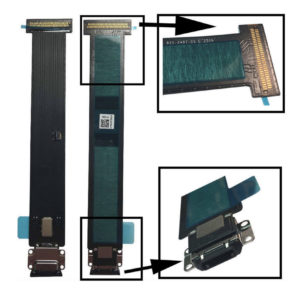"""Black Micro USB Charger Charging Port Connector Flex part for iPad Pro 12.9"""""""