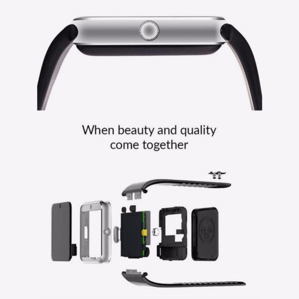 Clock Bluetooth Smart Watch GT08 for Android