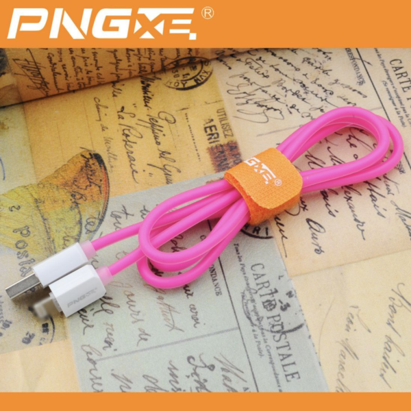 PNG Jelly Lightning Sync Data Cable USB Charger iPhone 7 6 5 5 iPads 4
