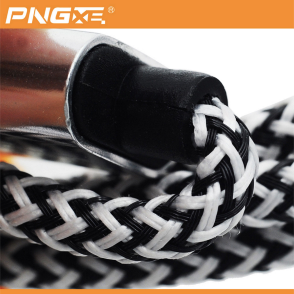 PNG Nylon Braided Lightning Sync Cable USB Charger iPhone 5 6 7 iPads 3 4-1