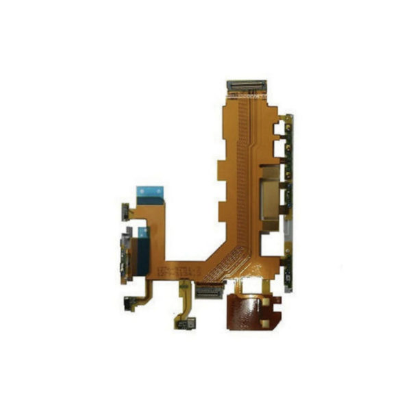 Sony Xperia Z3 Motherboard Flex Cable Vibrate Mic Volume Power Button-1