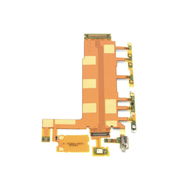Sony Xperia Z3 Motherboard Flex Cable Vibrate Mic Volume Power Button