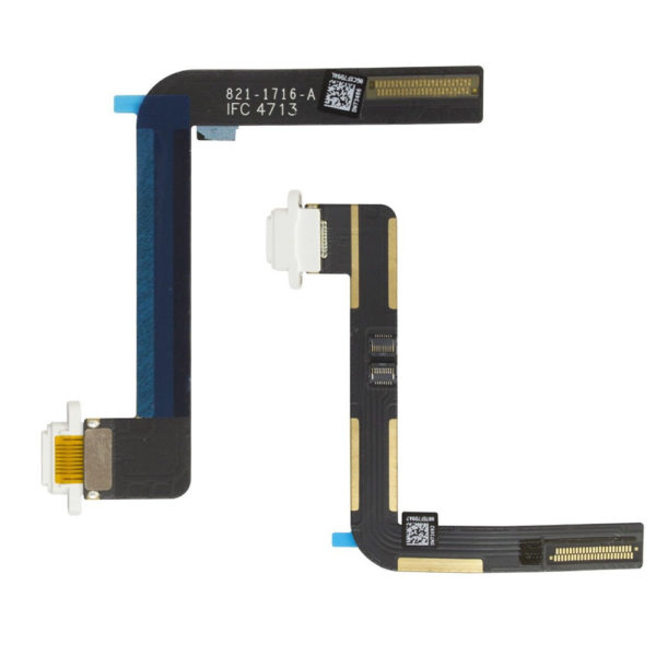 White Charging Sync Port Dock Flex Ribbon Replacement for iPad Air 2 iPad 6