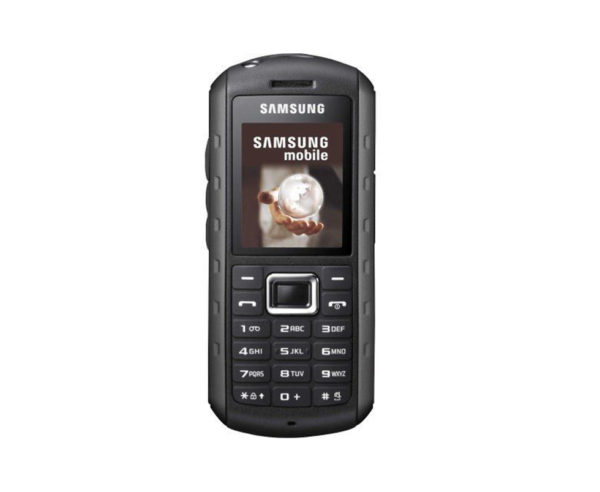 New Condition Samsung Solid Extreme B2100 Modern Black-Red Unlocked Mobile Phone-2
