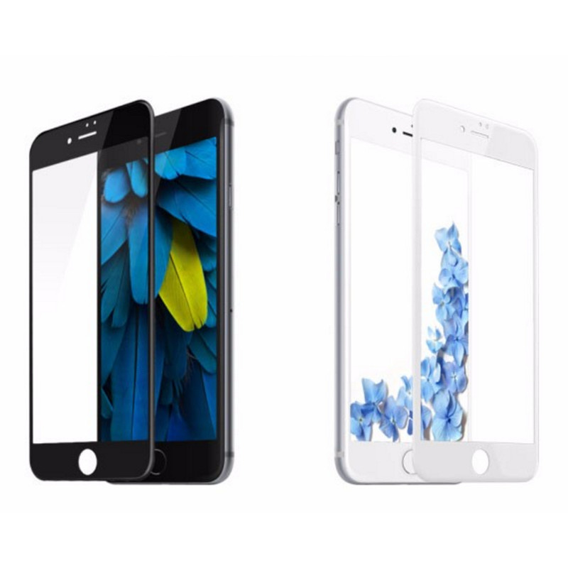 D Tempered Glass White Iphone