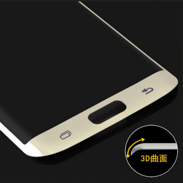 3D Tempered Glass Screen Protector For Samsung S7 Edge-6