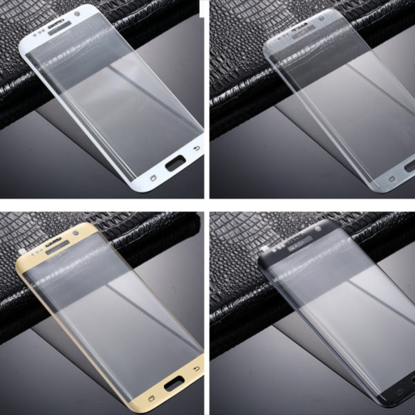 3D Tempered Glass Screen Protector For Samsung S7 Edge-7