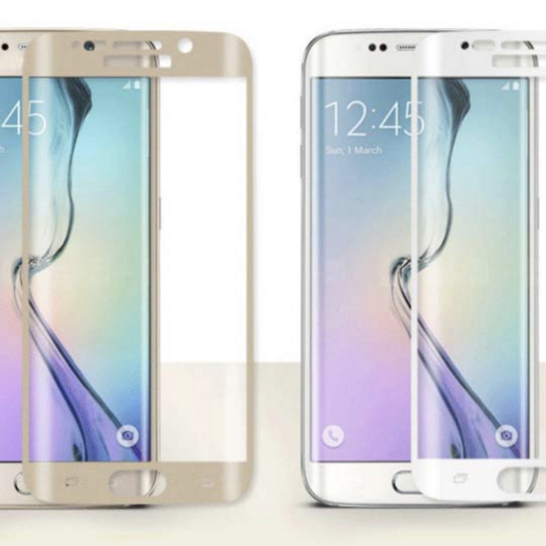 High Quality 3D Tempered Glass Screen Protector For Samsung S7-4