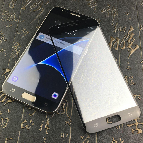 High Quality 3D Tempered Glass Screen Protector For Samsung S7-6