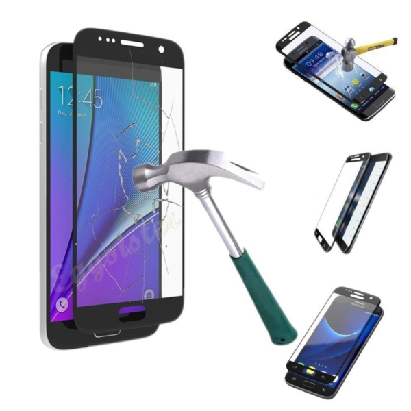 High Quality 3D Tempered Glass Screen Protector For Samsung S7