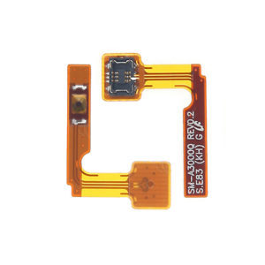 Power Button Flex Replacement Part For Samsung Galaxy A3.