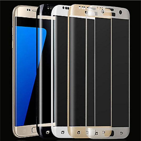 Premium High-Quality 3D Tempered Glass Screen Protector For Samsung S6 Edge.