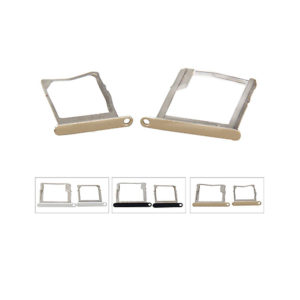 SIM Card Tray Holder Slot For Samsung Galaxy A7 White Silver Gold.