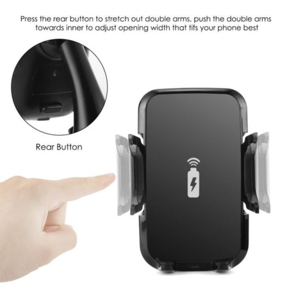 Wireless Car Charger & Mount Holder-2