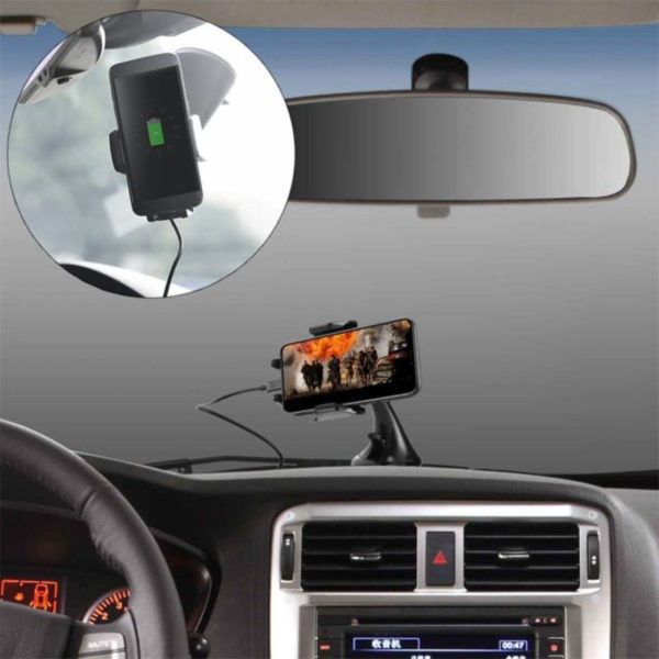 Wireless Car Charger & Mount Holder-3