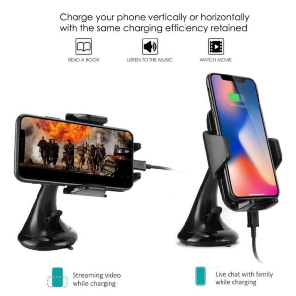 Wireless Car Charger & Mount Holder-6
