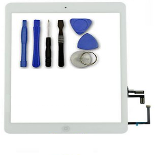 iPad 5 Air Home Button Touch Screen Digitizer Front Glass