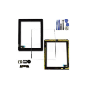 iPad 2 LCD Screen Touch Digitizer Front Glass Home Button