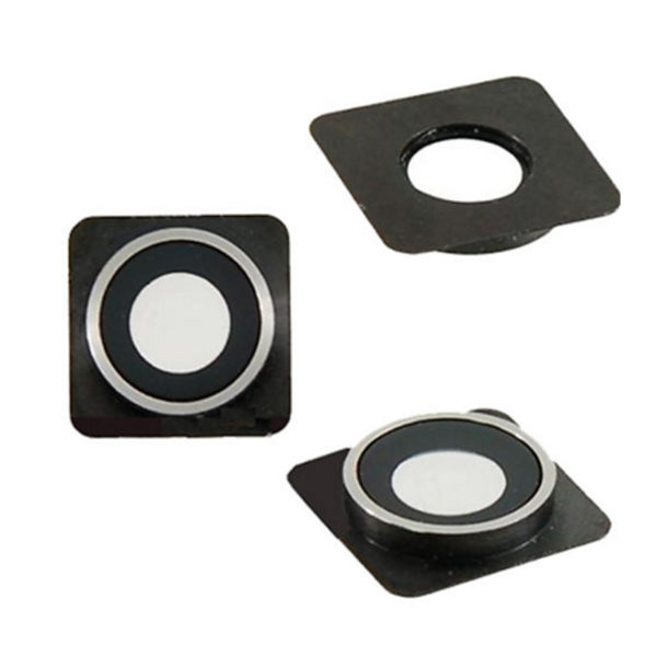 High Quality Camera Lens Cover Chrome Ring replacement For iPhone 4 4G 4S