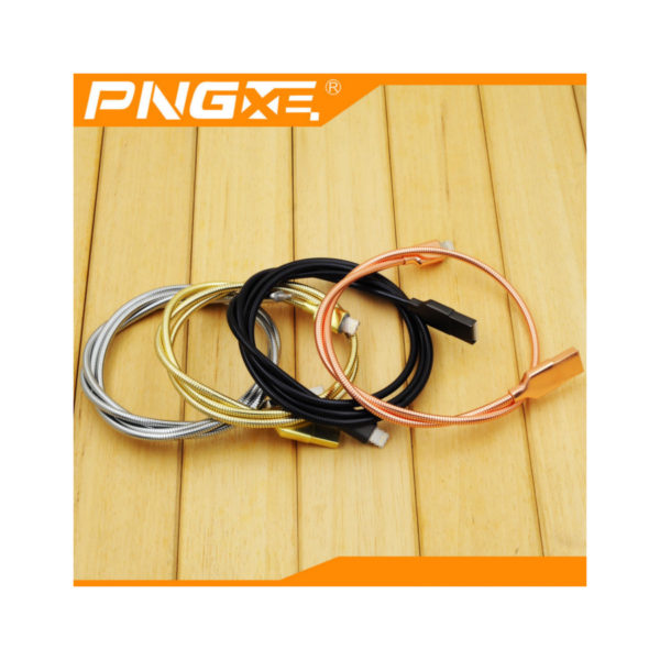 New-PNG-Metal-Spring-Fast-Charging-Micro-USB-Cable-for-Samsung-LG-HTC-Tablets