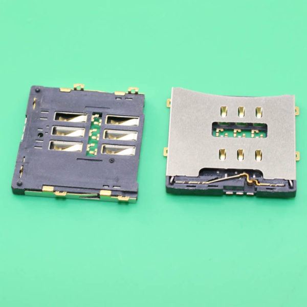 SIM Card Slot Reader Socket Holder Replacement Repair For iPhone 4 4G 4S