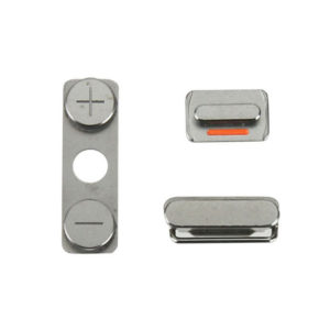 iPhone 4S Replacement Power Button, Mute Switch And Volume Buttons - OEM