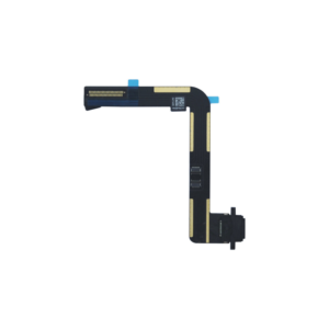 Charging Port Dock Connector Flex Cable Replacement for Apple iPad Air Black