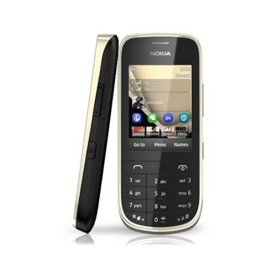 Refurbished Nokia Asha 202 Dual Sim Black Unlocked