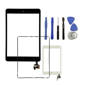 Touch Screen Digitizer, Bezel & Home Button For iPad Mini 3 3rd Gen.