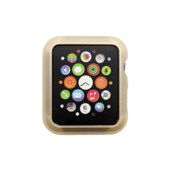 38/42mm Protective Case Cover For Apple Watch PC Hard Thin Metal Plated