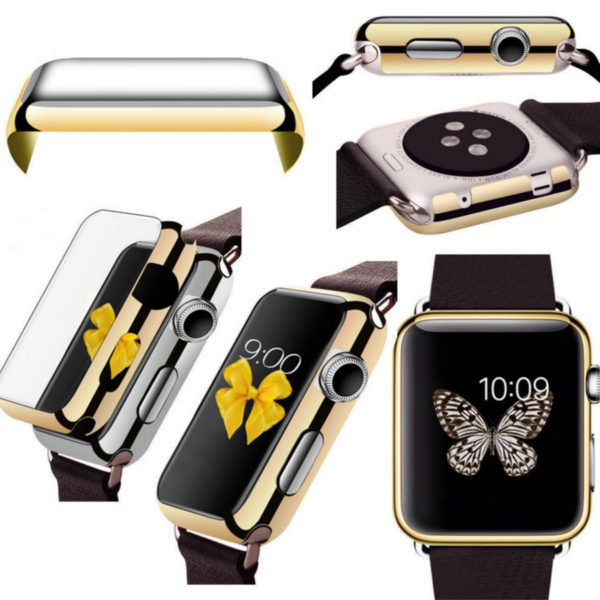 38 42mm Protective Case Cover For Apple Watch iWatch PC Hard Thin Metal Plated11