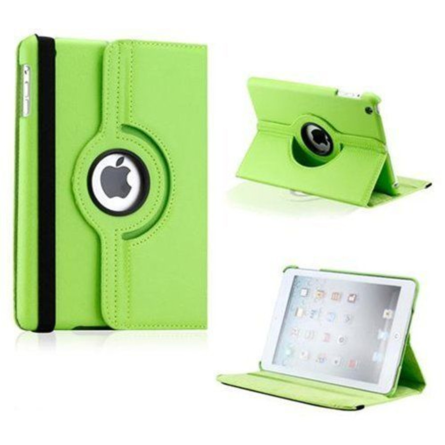 Leather 360 Rotating Stand Case Cover For Ipad Copy Dhammatek Degree 2 3 4 234 Mini 123 Air1 Pro 97