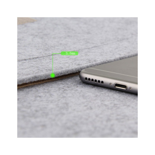 Wool Felt Laptop Notebook Sleeve Cover Bag Case For MacBook Air Pro Retina 13''