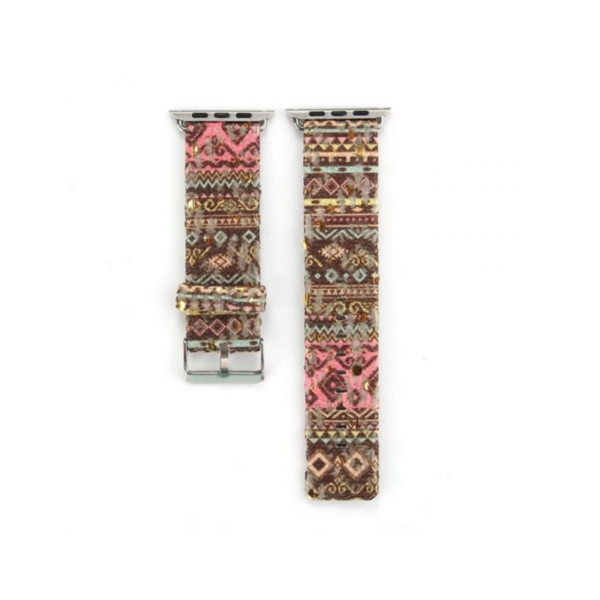 Variation-of-PU-Leather-Loop-amp-Border-style-straps-For-iWatch-Series-1-2-Band-42mm-amp-38mm-282624669776-0ba1brown-pink