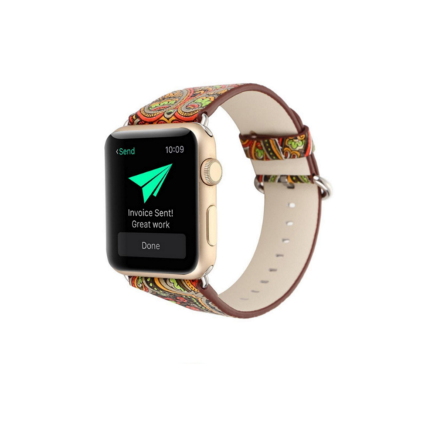 Variation-of-PU-Leather-Loop-iwatch-National-style-straps-For-Apple-Watch-Band-42mm-amp-38mm-5