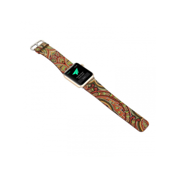 Variation-of-PU-Leather-Loop-iwatch-National-style-straps-For-Apple-Watch-Band-42mm-amp-38mm-black-green