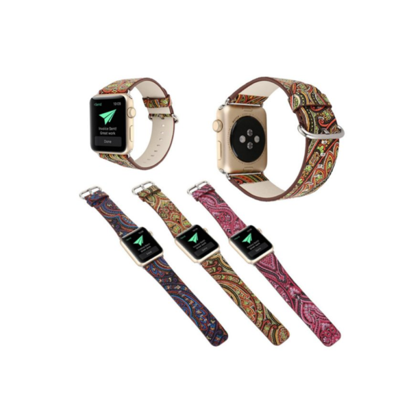 Variation-of-PU-Leather-Loop-iwatch-National-style-straps-For-Apple-Watch-Band-42mm-amp-38mm-h