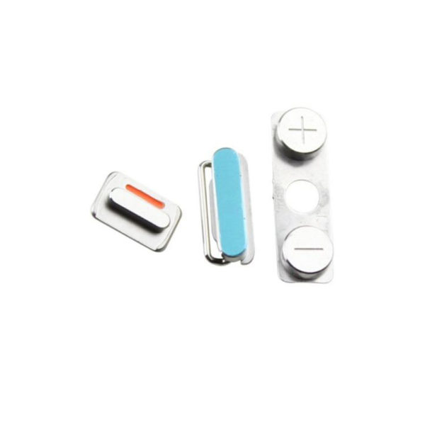 SIDE VOLUME + MUTE SWITCH + POWER ON OFF BUTTON REPLACEMENT FOR IPHONE 4S