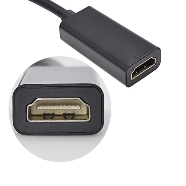 Mini Display Port Thunderbolt Male to Female Extension Cable 2 M DP Mac Lead