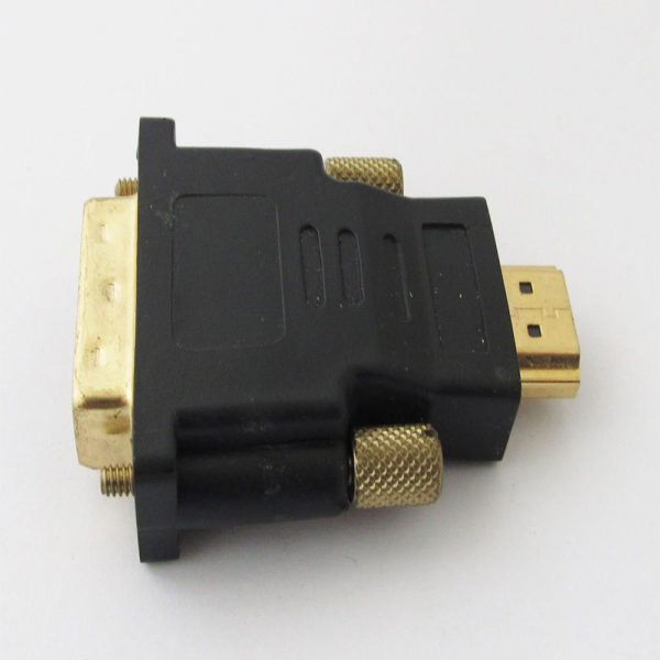 HDMI Male to DVI-D Male 24+1 Pin DVI M/M Gold Plated Converter Adapter UK